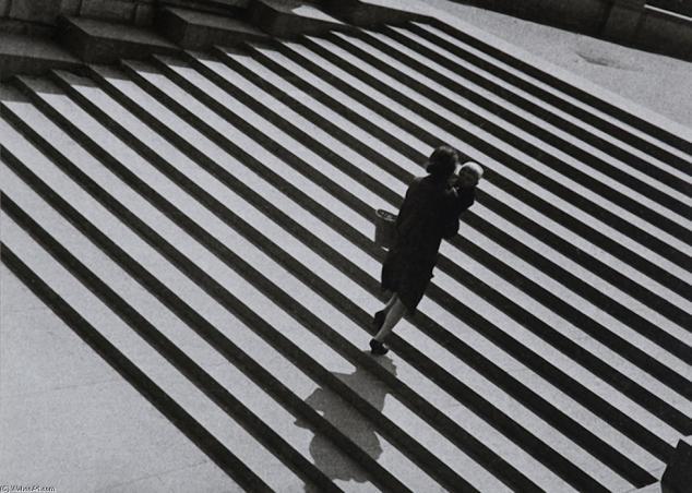 Escalera, 1930. Alexander Rodchenko.